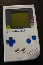 NINTENDO Custom Original Nintendo Game boy White DMG-01 Blue Pokemon Pikachu