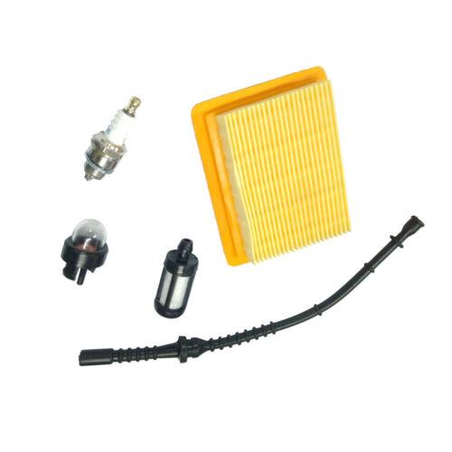 Air Filter Fuel Line Fits for Stihl FS120 FS200 FS250 Chainsaw 4131 141 0300