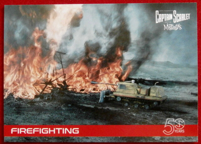 CAPTAIN SCARLET 50 YEARS - Card #21 - FIREFIGHTING - Unstoppable Cards 2017