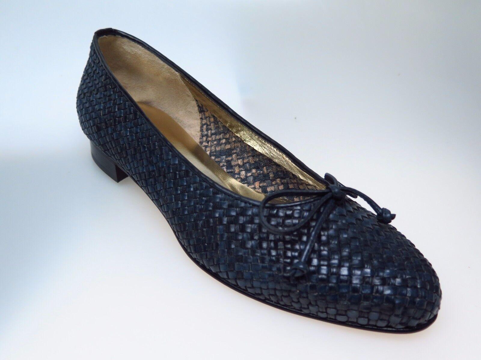 MARETTO  Designer Damenschuhe 6231 Ameta Blau Bleu Leder Gr Schuhe Gr Leder 41,5 NEU ef80ab