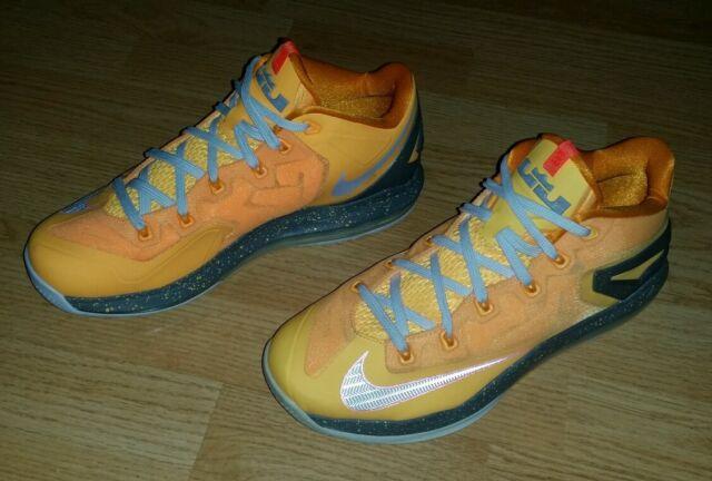 super popular 4e973 36a25 Men s Nike XI 11 Low Mango Lebron James Shoes Size 8 (642849 800) (