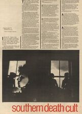 2/10/82Pgn16 Article & Pictures: southern Death Cult - The Last Tribe