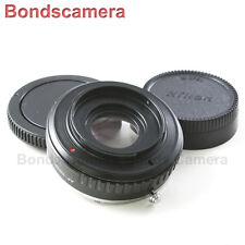 Minolta Sony Alpha AF Mount Len to Nikon F Mount Adapter Camera Optic D600 D800