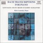 Bach Transcriptions for Piano (CD, Jul-2000, Naxos (Distributor))