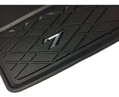G12 Original BMW Gummifußmatten Allwetterfußmatten LHD schwarz hinten 7er G11