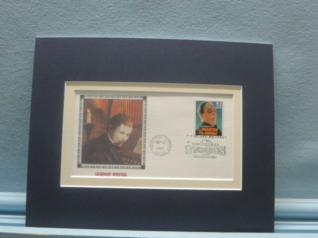Lon Chaney - The Phantom of the Opera & First Day Cover of his own stamp
