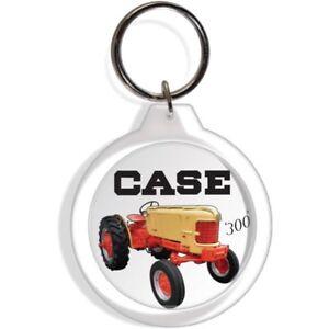 CASE FARM GARDEN LAWN TRACTOR ENGINE KEY FOB RING KEYCHAIN IGNITION STARTER