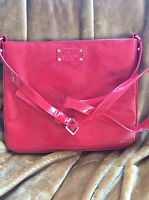 Stunning Chili Red Kate Spade Apple Ipad Cross Body Tablet Case Holder