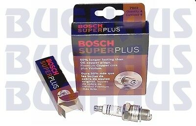 4-PC Bosch Spark Plugs > VW Air-Cooled Bug, Bus, Ghia, T3, Thing FREE SHIP!