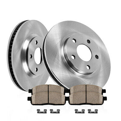 Front Brake Rotors and Ceramic Pads FOR 2011 2012 2013 NISSAN SENTRA REAR DRUM