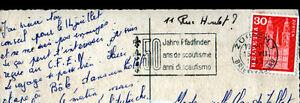 """BASEL (SUISSE) BARQUES sur le RHIN , 50 Ans du SCOUTISME en 1963 - France - État : Occasion : Objet ayant été utilisé. Consulter la description du vendeur pour avoir plus de détails sur les éventuelles imperfections. Commentaires du vendeur : """"CORRECT"""" - France"""