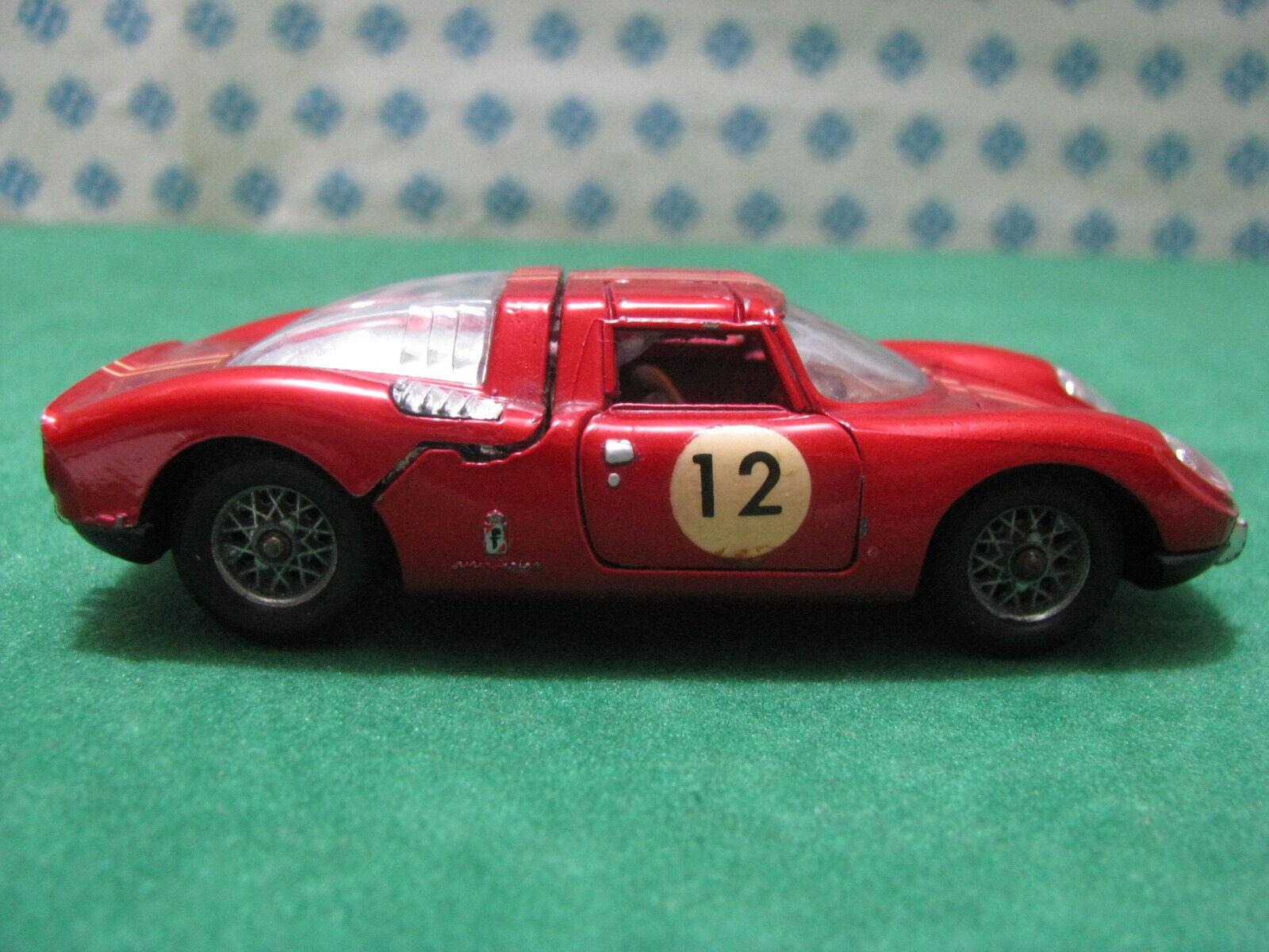 Vintage  -  FERRARI 250 Le Mans PininFarina    - 1 43  Politoys n° 525 6016d8