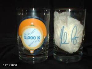 Nolan Ryan 5000 K strikeout king drinking glass