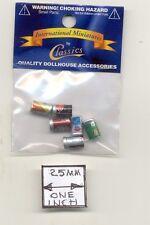 Soda Pop Coke Cans dollhouse metal miniature 1/12 scale IM65512 6pcs