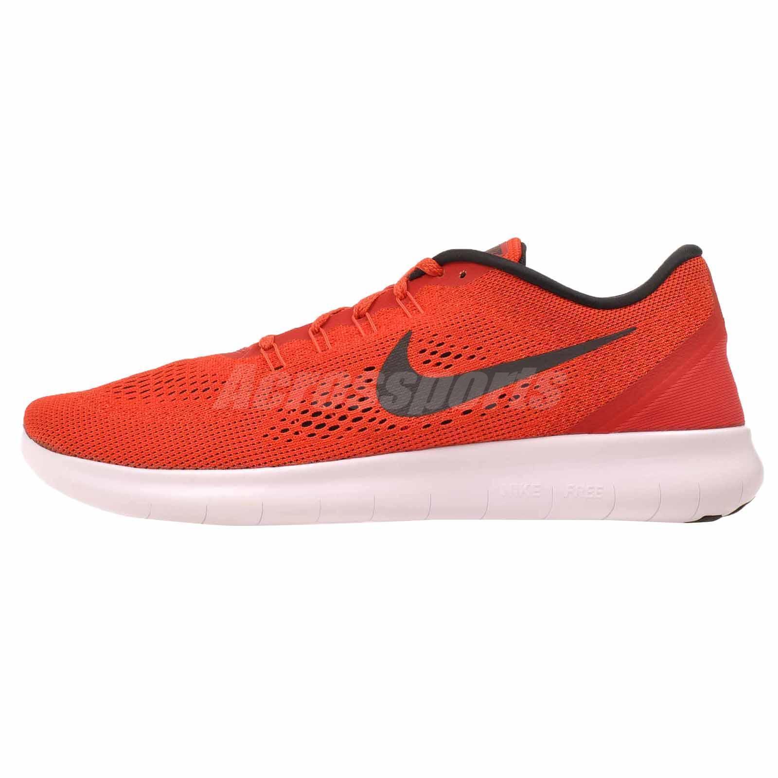 Nike free rn laufen männer 831508-600 universität rote schuhe