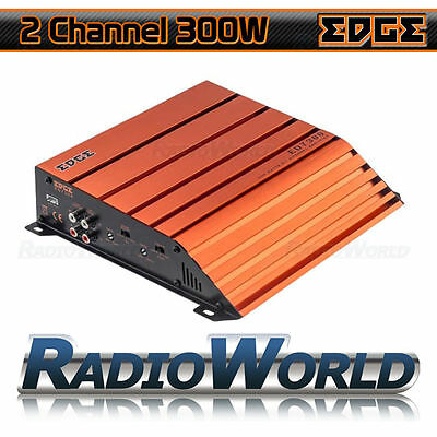 Edge ED7300 2/1 Channel Car Amp Amplifier 300w Full Range Class AB