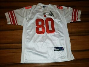newest 907a4 212d6 Details about NWT VICTOR CRUZ #80 NY GIANTS Sewn REEBOK Super Bowl XLVI  Patch JERSEY SZ 54