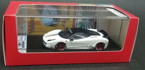 1:64 Veloce Ferrari 458 LB Performance White Resin ignition ig tarmac