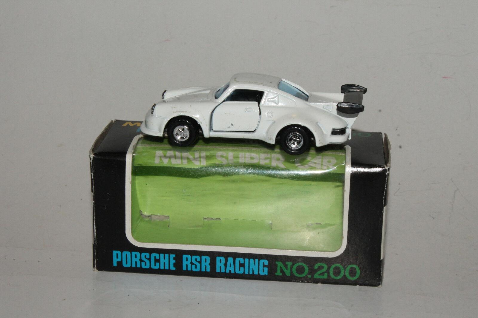 SAKURA MINI SUPERCAR, JAPAN, PORSCHE RSR RACING CAR, 1 54, NICE, BOXED