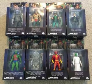Alex-Ross-Justice-League-Action-Figure-Lot-8-Total-New-In-Box-Series-4-amp-5