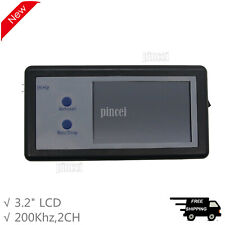 200khz Digital Oscilloscope 2ch Mini Portable Oscilloscope Touch Panel Lcd D602