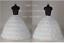 White//Black Ball Gown 6 Hoops Petticoat Quinceanera Dresses Crinoline Underskirt