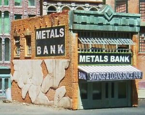 Downtown-Deco-N-Scale-Building-Metals-Craftsman-Kit-Free-Bonus-Kit
