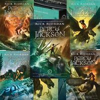 Percy Jackson And The Olympians All 5 Books In A Box Set By Rick Riordan