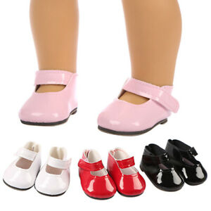 Cute-PU-Boots-Doll-Shoes-Fits-For-18-Inch-Dolls-Girl-Small-Shoes-Decor-Gift