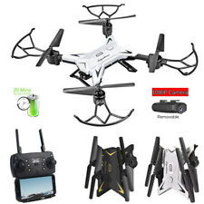 KY601S Foldable WIFI FPV RC Quadcopter Drone w/ 1080P 5.0MP Camera Selfie Dron E