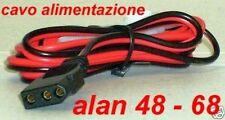 CAVO ALIMENTAZIONE 3 POLI ALAN 48 - 68 RADIO CB INTEK MIDLAND LAFAYETTE E ALTRI