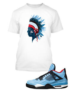 75585a58b764 Chieftain T Shirt to Match Travis Scott x Air Jordan 4 Cactus Jack ...