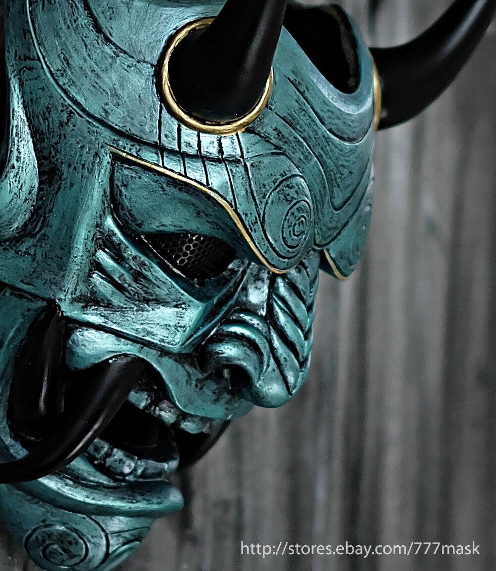 Máscara De Airsoft Táctica Pistola Bb samurai asesino Oni Disfraz de Halloween Cosplay DA07