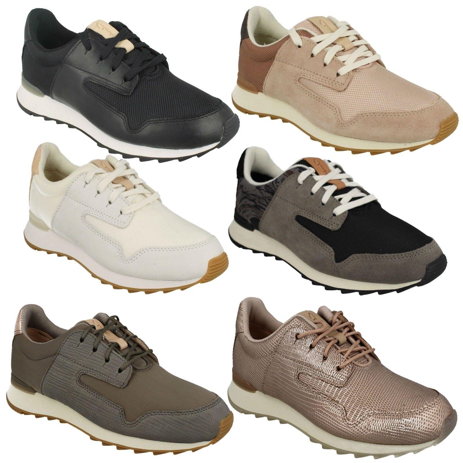 Floura MIX Clarks Mujer Cordones Cordones Cordones Cuero Gimnasio Informal Zapatos  tomar hasta un 70% de descuento