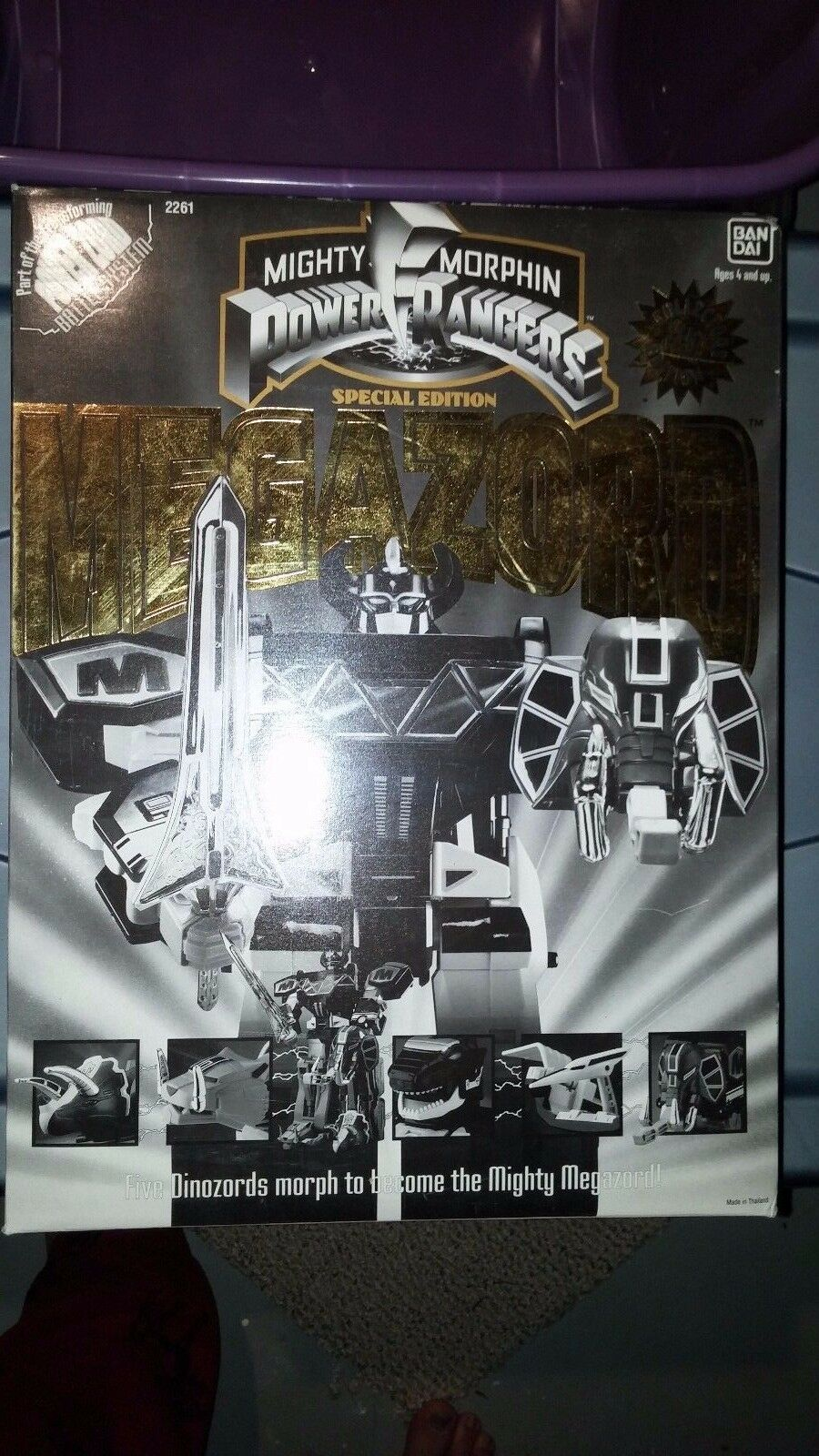 schwarz & Gold SPECIAL EDITION MEGAZORD 1993 MIGHTY MORPHIN POWER RANGERS