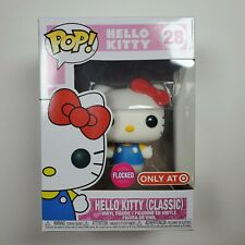 -FUN44305-FUNKO Hello Kitty Flocked US Exclusive Pop Hello Kitty Vinyl RS
