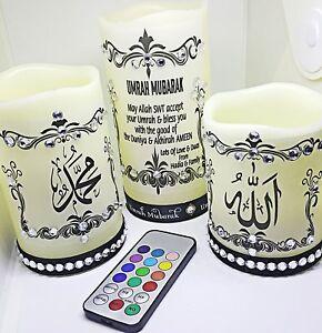 3-en-1-arabe-Caligrafia-Islamico-Individual-Led-Vela-Decoracion-Hogar-amp-Regalo