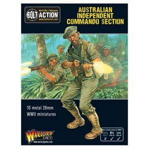 Warlord Games - Australian Independent Commando Squad Seconde Guerre Mondiale