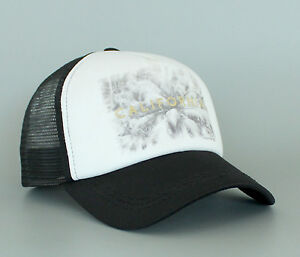 New Women s Genuine Roxy California Trucker Snapback Hat Beach Cap ... 99234023d4