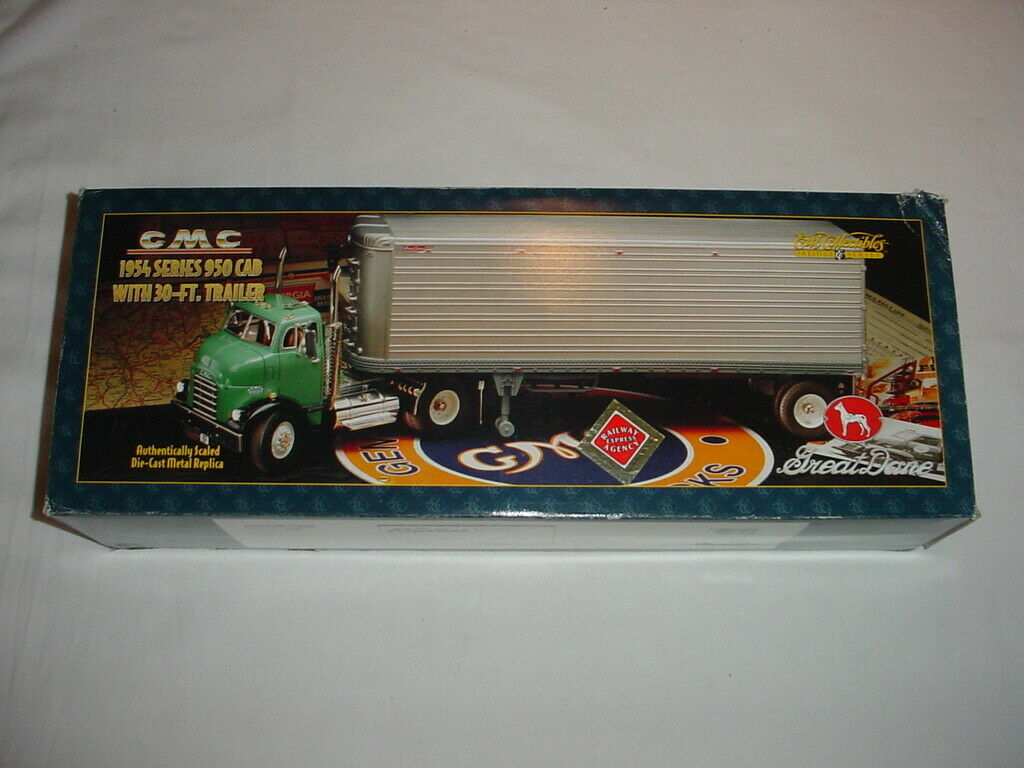 1954 GMC 950 Truck & Trailer-Great Dane Railway Express-Ertl Prestige serie