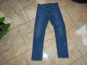 Bleu W30 Levis H1597 Sans Moyen Jeans Motif 505 OwRSnSq6I