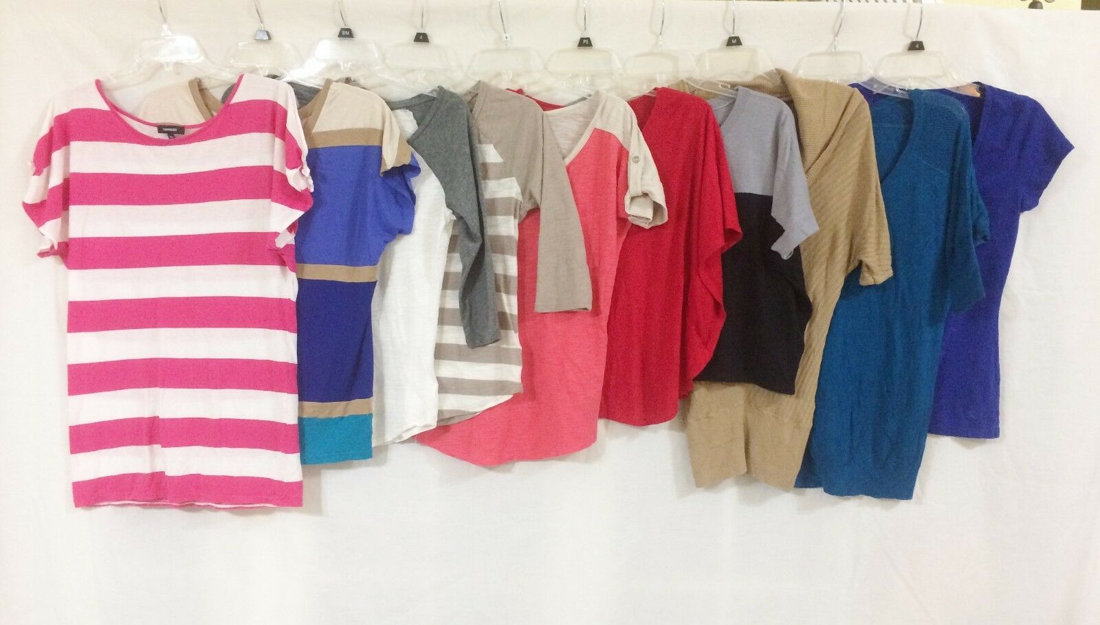 Women's Lot Of 10 Soft Knit Casual Tops All From EXPRESS Size XS EUC