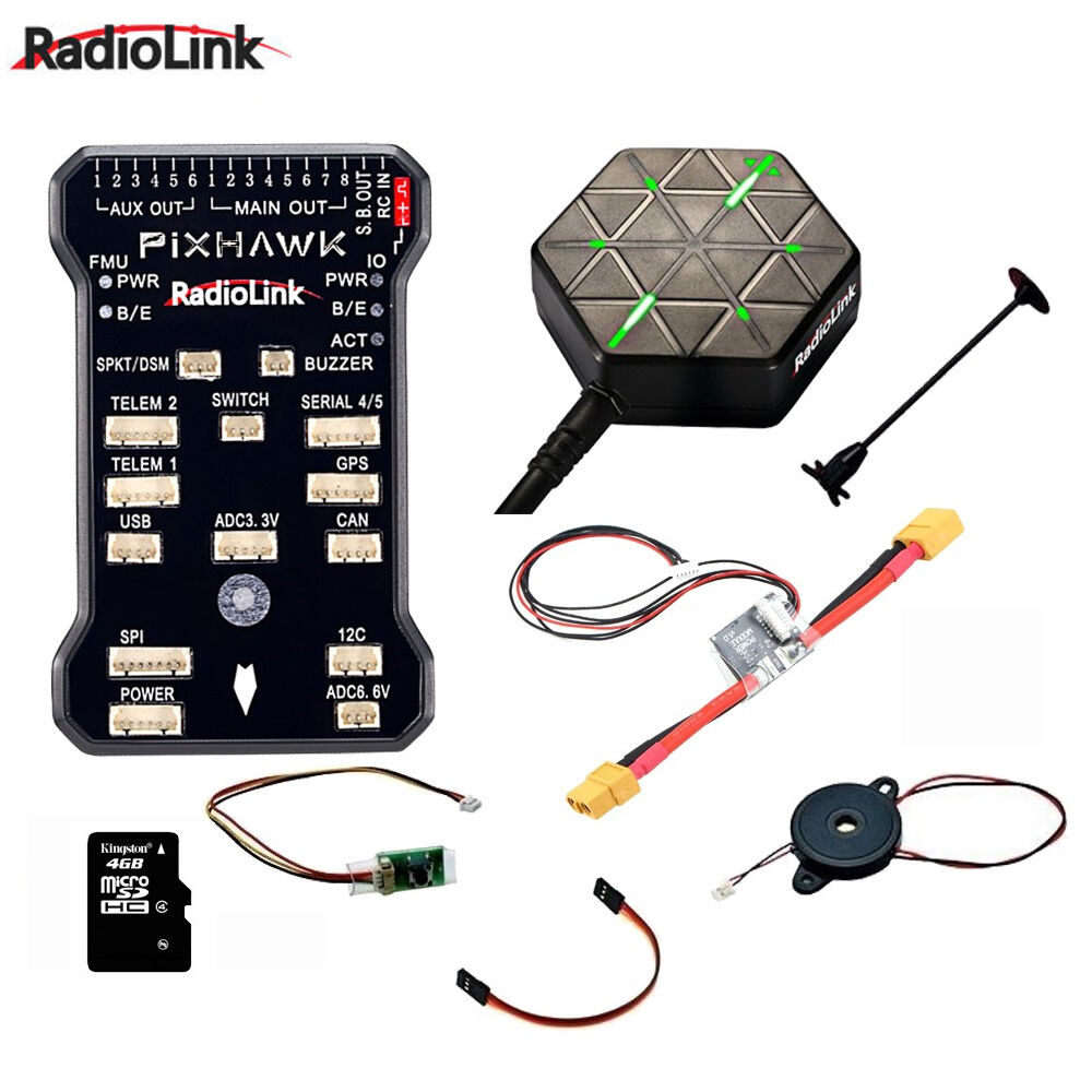 Radiolink PIXHAWK Flight Controller M8N GPS for AT9 AT10 Remote Controller OSD