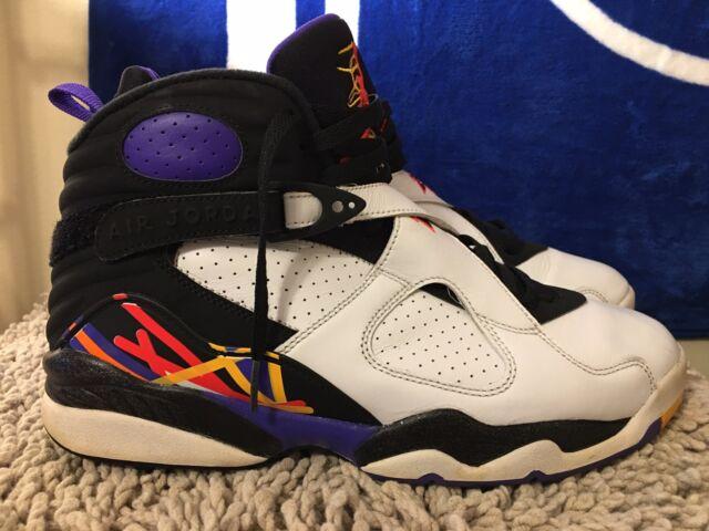 d9af5df46854 2016 Nike Air Jordan 8 VIII Retro White Infrared 23 Black Mens Shoes ...