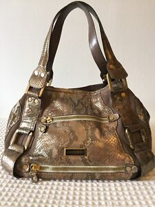 Image Is Loading Jimmy Choo Mahala Snake And Suede Stunning Bag