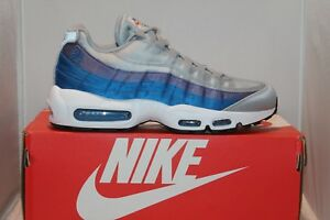 Mens Nike Air Max 95 SE AJ2018-001 Wolf Grey Blue Nebula Retro ... 24c9f6875