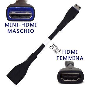 Cavo-TV-adattatore-mini-HDMI-M-HDMI-F-originale-Nokia-per-C7-E7-00-N8-CA-156