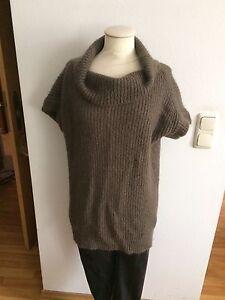 Zara-Woll-Strick-Rollkragen-Long-Pullover-Gr-M
