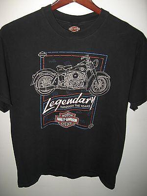 Barnett Harley Davidson Motorcycles Chopper Hog El Paso Texas USA T Shirt Large