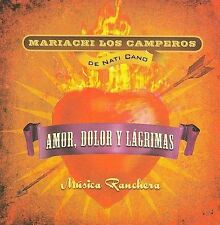 NEW - Musica ranchera: Amor, Dolor y Lagrimas (Love, Hurt and Tears)